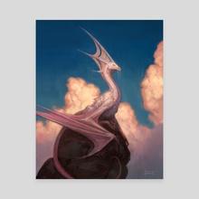 Cloud Dragon - Canvas by Felipe Escobar