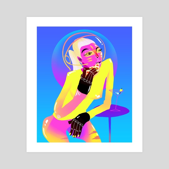 Cosmic Vacation by Tosik