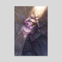 Tied II - Acrylic by Noa Ikeda