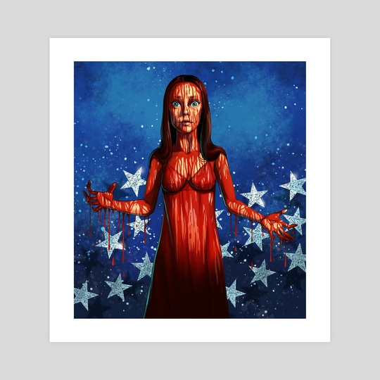 Carrie Prom Queen by Roberto Almanza