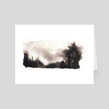 Light study III - Art Card by Paloma Zamorano
