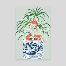 Tropical Bonsai - Canvas by 83 Oranges