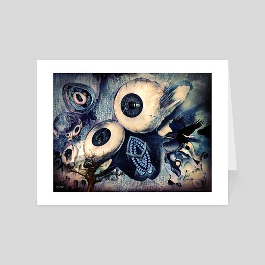 Eye Dreams Keep Quiet 3 by Vanja Rancic