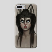Husky - Phone Case by Fernanda Suarez