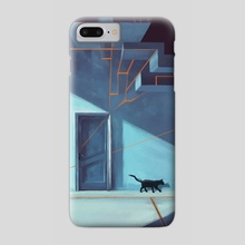 The door. - Phone Case by Vincent Belbari