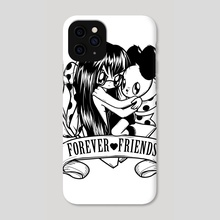 Forever friends - Phone Case by Meni Tzima