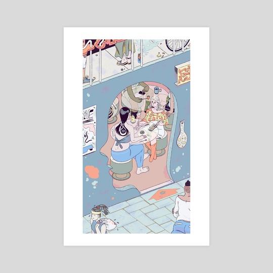 Head Cafe by Sophia Foster-Dimino