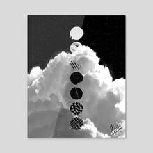 Wings - Acrylic by Mari K