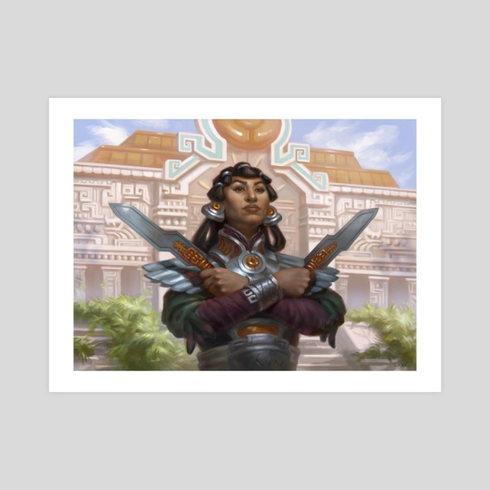 Tocatli Honor Guard by Sara Winters