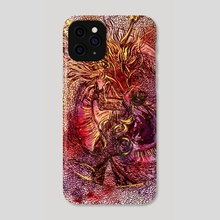 In the Vanisher's Palace: Dragon II - Phone Case by Likhain