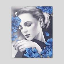 Azure - Acrylic by Anna Dittmann
