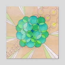 The Shape of Green - Acrylic by Sarie Tardif