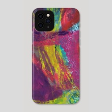 Butterfly Caught in a Windstorm - Phone Case by Barbara Muth