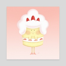 Candy People: Chantilly - Canvas by Irene Buzzi