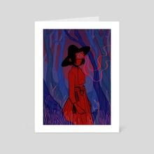 Guardian - Art Card by Kristin Burns