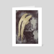 The Fallen - Art Card by Rebecca Yanovskaya