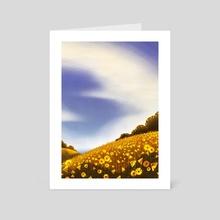 Cirrocumulus - Art Card by Sasha Schotzko-Harris