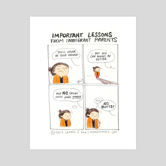 Important Lessons from Immigrant Parents by Connie Sun