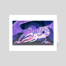 the sleeper - Art Card by Angelica Alzona