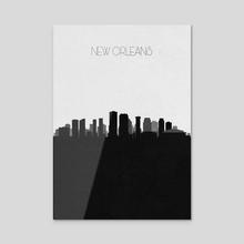 New Orleans - Acrylic by Deniz Akerman