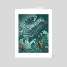 Livyatan - Art Card by Josh Yosurack