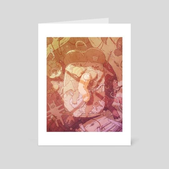 Scavenger (Sunlight Variant) by Batsquatch Studios