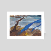 On the shores of Eternity - Art Card by Nadia Murash