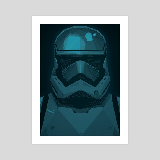"STARWARS ""The Force Awakens"" Stormtrooper by ANDRESZEN"