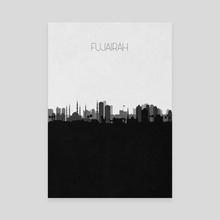 Fujairah - Canvas by Deniz Akerman