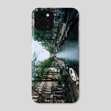Charming Amsterdam - Phone Case by Alex Tonetti