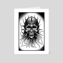 Norskull - Art Card by Cody Blvk