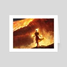 MTG - Chandra's Flame Wave - Art Card by Paul Canavan