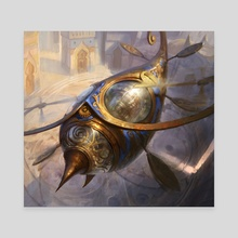 Thopter Token - Canvas by Adam Paquette