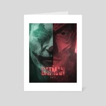 The Batman 2021 Movie Poster - Art Card by Salar Khan