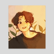 sunkissed jk! - Canvas by lils .