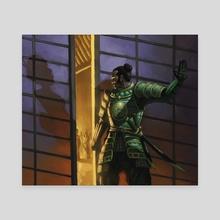 Emerald Guard - Canvas by J. Edwin Stevens
