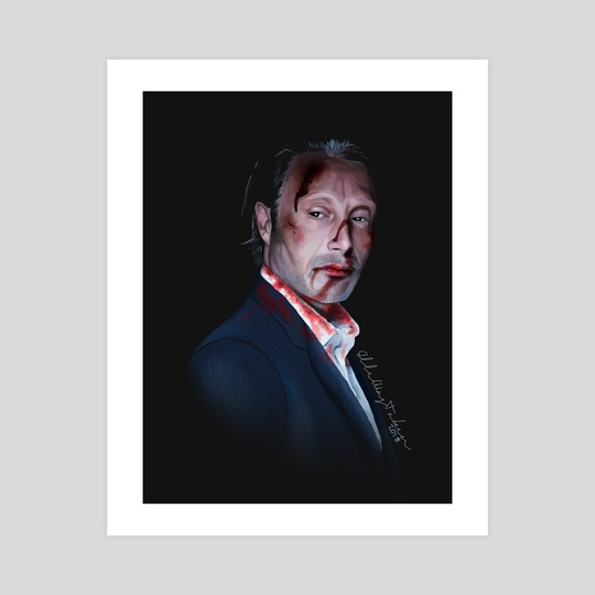 Hannibal - Mads Mikkelsen by Ellie Wyatt