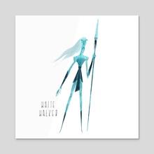 GOT - White Walker - Acrylic by Nikolas Ilic