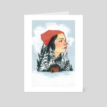 Winter - Art Card by Alice Holleman