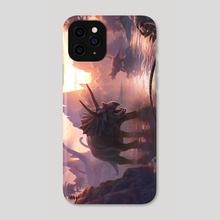 Cretaceous Sunset - Phone Case by Kerem Beyit