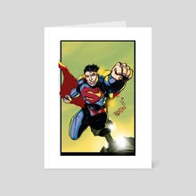 Superman - Art Card by Shawn Norton