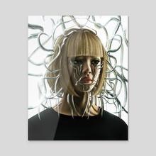DAZED - Acrylic by Yugal Odhrani