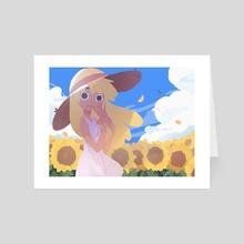 Sunflower - Art Card by Carles Dalmau Lores