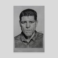 Nick Diaz  - Canvas by Douglas Shindler