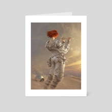Mars Sonata - Art Card by Antonio Caparo