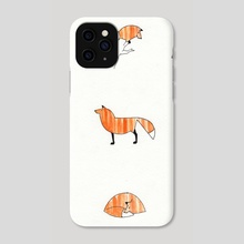 9 Views of a Fox - Phone Case by Jordan Ladikos
