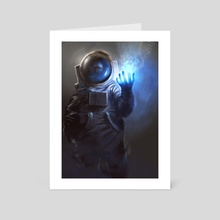 Astronaut Wizard - Art Card by Jordan Grimmer