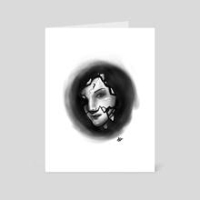 Shadows 3 - Art Card by Hannah Ahn