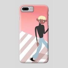 Walk - Phone Case by Laetitia Um