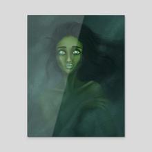 Emerald Pools - Acrylic by Aisha Diandra